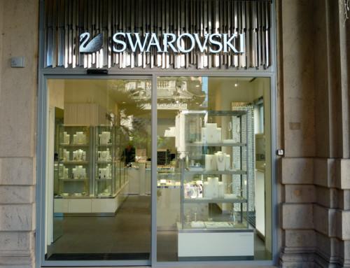 Swarovski, Porta per Negozio